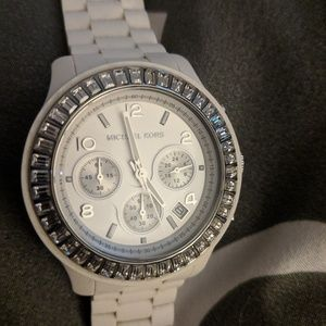 Authentic Michael Kors Silicone Strap Watch